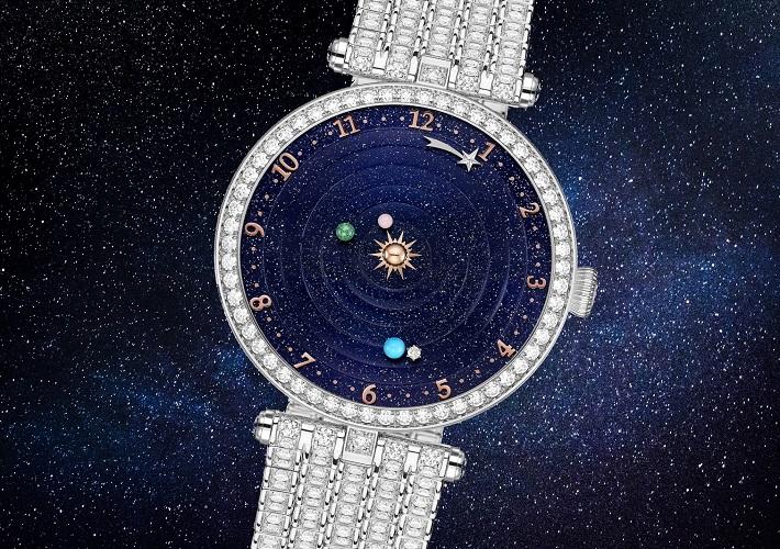 Женские часы Полуночный планетарий