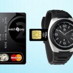 Наручные часы с технологией бесконтактной оплаты MasterCard PayPass