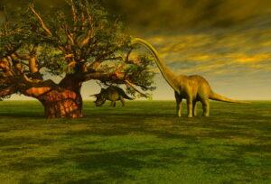 Времена динозавров и причины их гибели